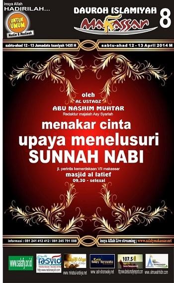 Dauroh-Makassar-abu nashim mukhtar